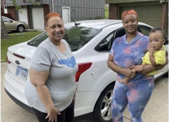 A new car for a family forever altered by a tragic shooting